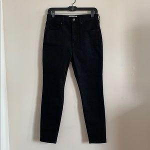 Everlane Black ankle jeans US30